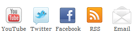 Social Icons with no - hover effect