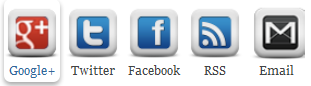 New Cool Social Icons With Hover Effect Widget V2