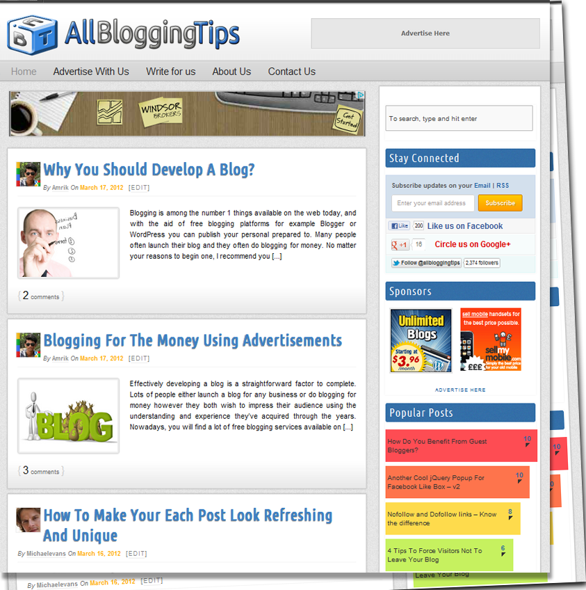 allbloggingtips new design v2 0