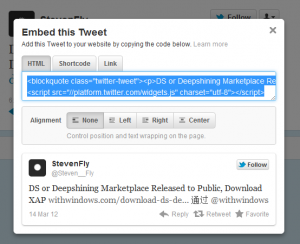 How to Embed Tweets In your Blogpost using New Twitter?