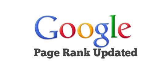 Google Update Pagerank 2013