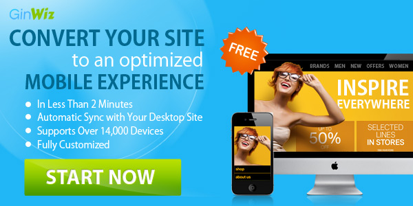 Create Mobile Version Of Website With GinWiz