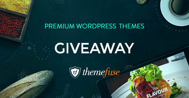 Giveaway: Win One of Three WordPress Themes from ThemeFuse