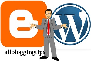 wordpress or blogger