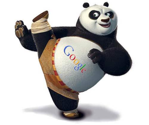 google-panda-kick