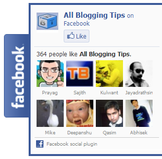 facebook like box widget