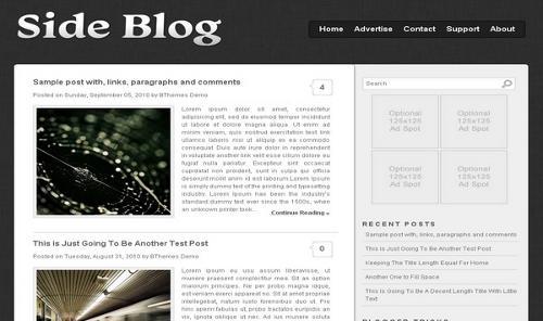 SideBlog-xml-Blogger-Template