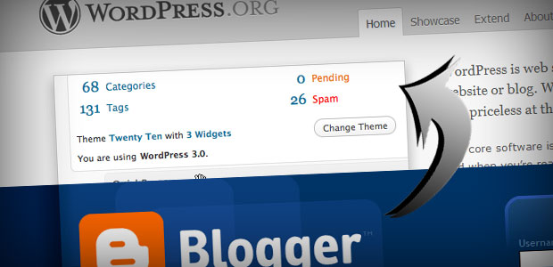 Move from blogger to wordpress