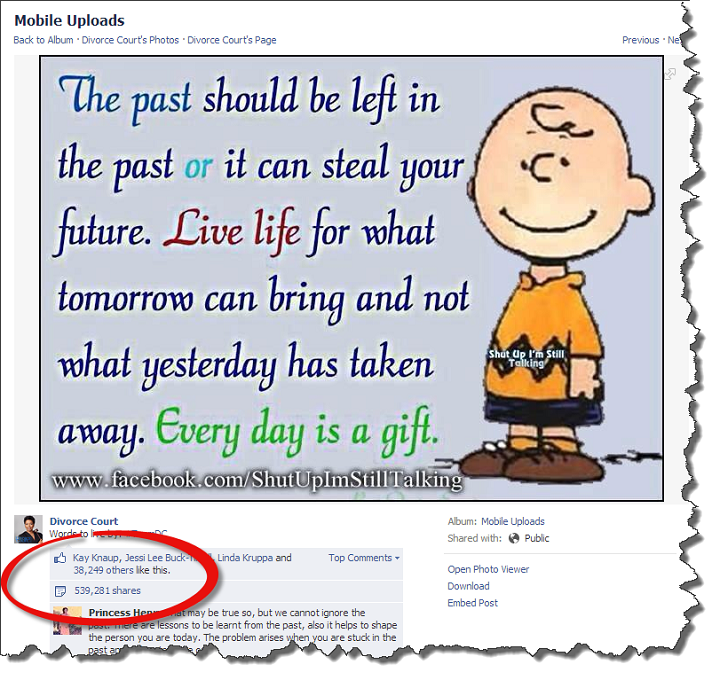 how to keep facebook posts with no likes