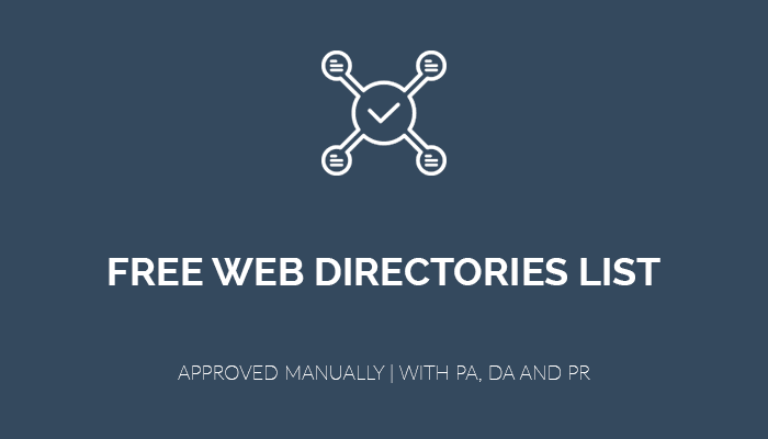free web directories list