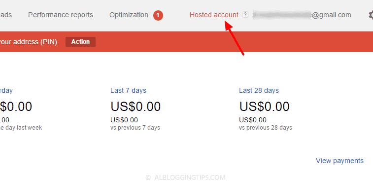 what is adsense hosted account