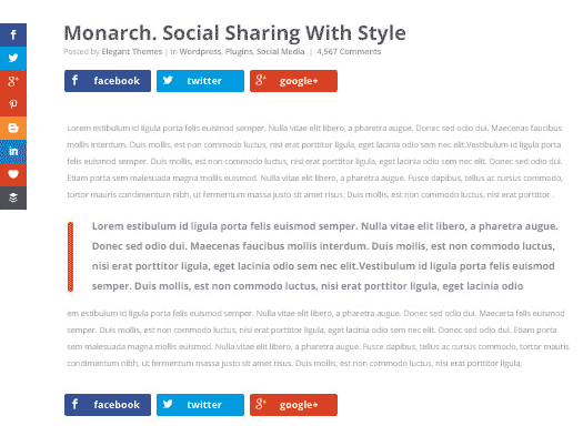 monarch by elegantthemes